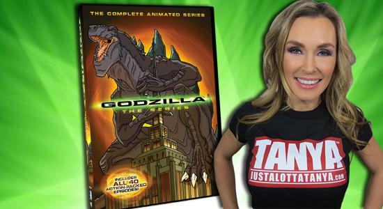 Tanya Tate Godzilla Animated Series Video Card