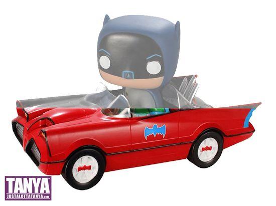 Funko Pop Toy Tokyo Batman Batmobile Red Exclusive 03A