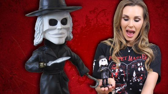 Tanya Tate Full Moon Horror Blade Bobblehead Puppet Master Video Card