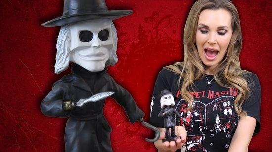 Tanya Tate Full Moon Horror Blade Bobblehead Puppet Master Video Card