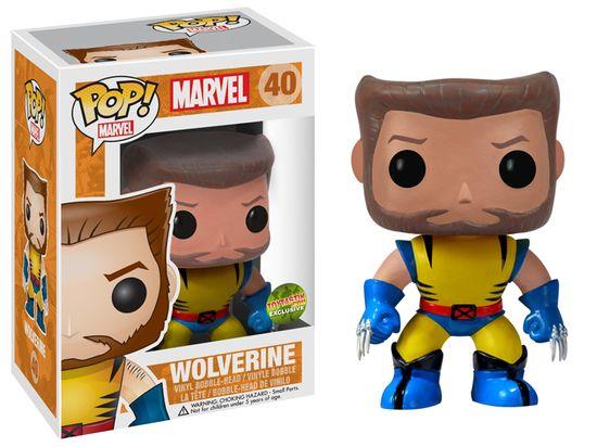 FUNKO POP Toytastik Wolverine Unmasked