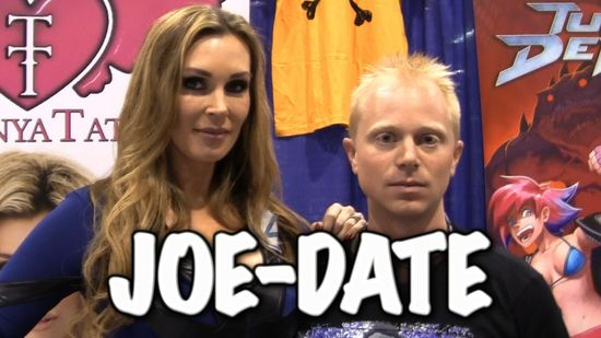 Tanya Tate, @TanyaTate, Badge of Shame, Joe Hanson, Joe date, Video, Youtube, Cosplay, Wondercon, geek, date Tanya Tate