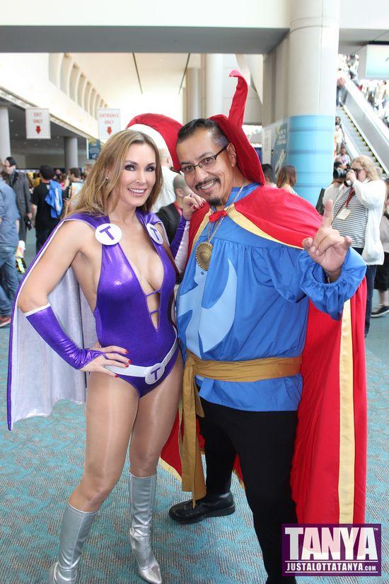 Tanya Tate San Diego Comic Con 2014 Lady Titan Cosplay SDCC Doctor Strange