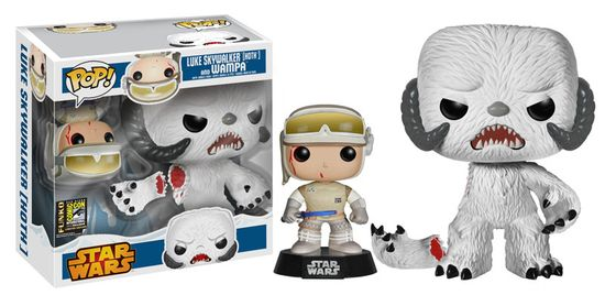 2014-Funko-Pop-Star-Wars-Luke-Skywalker-Hoth-Wampa-SDCC