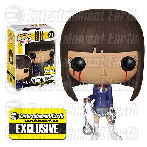 Kill Bill Bloody Gogo Yubari Pop Movies Vinyl Figure Entertainment Earth Exclusive