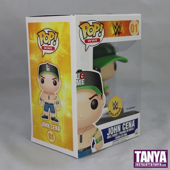 FUNKO POP Vinyl WWE John Cena Exclusive Green Hat Review 03