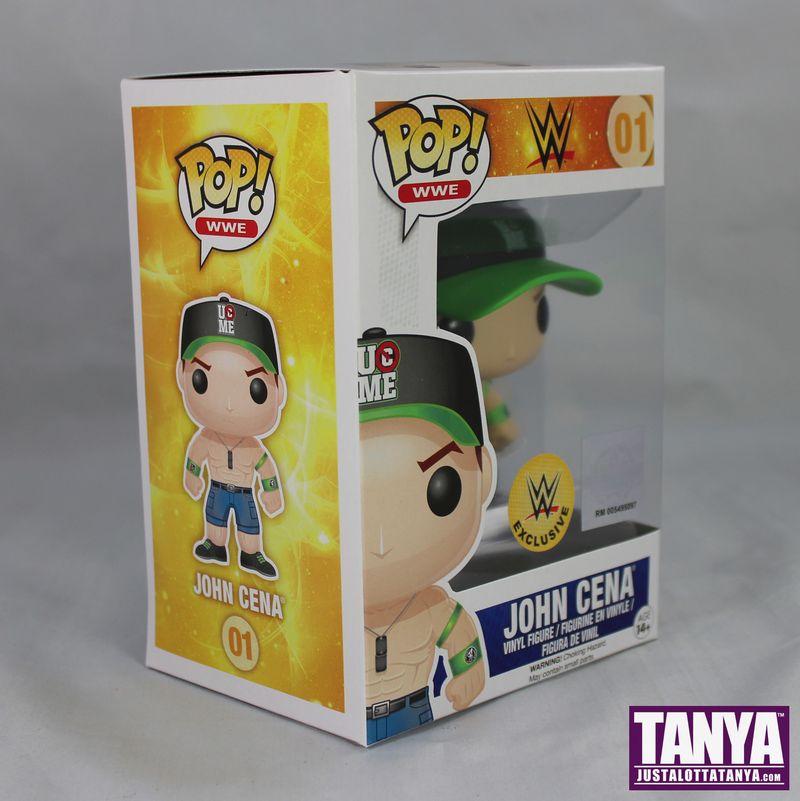 FUNKO POP Vinyl WWE John Cene Exclusive Green Hat Review 03