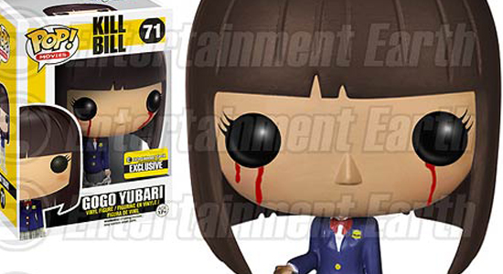 Kill Bill Bloody Gogo Yubari Pop Movies Vinyl Figure Entertainment Earth Exclusive 01