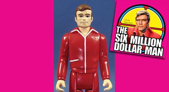 Six Million Dollar Man, Bigfoot, Steve Austin, Kenner, Zica Toys, Series 1, Retro Style, Action Figure