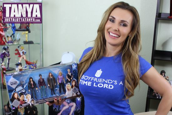 Tanya Tate, Doctor Who, Companions, Underground Toys, Rose Tyler, Billie Piper, Donna Noble, Catherine Tate, Martha Jones, Freema Agyeman, Astrid Peth, Kylie Minogue, Sarah Jane Smith, Elisabeth Sladen, K-9, Action Figures, Video Review, Boxset