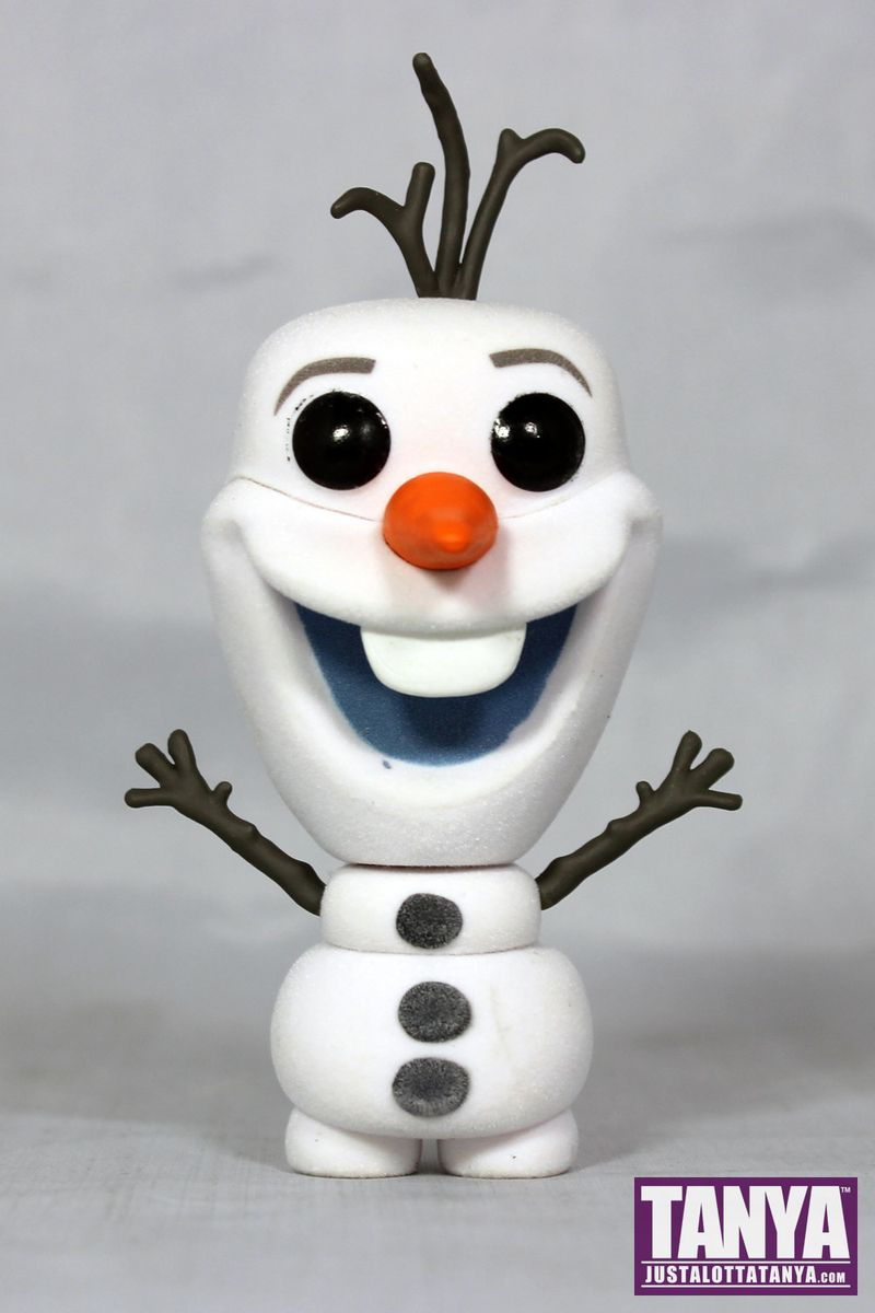 FUNKO POP Flocked Olaf Frozen Disney Review Exclusive Toy Tokyo NYCC 000