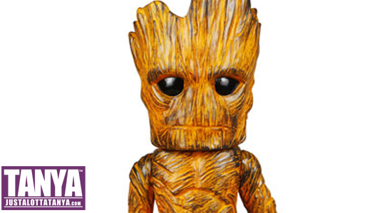 Tanya Tate, Pre-order Groot, Guardians of the Galaxy, Marvel Comics, Funko, Entertainment Earth, Hikari Sofubi, Vinyl Figure, Exclusive