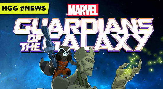 Marvel Guardians of the Galaxy Animated Series Disney XD News
