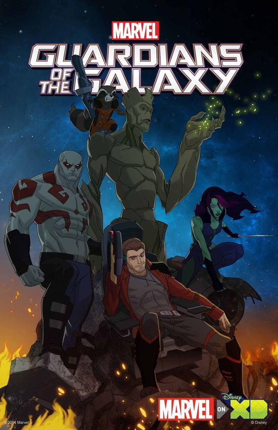 Marvel Guardians of the Galaxy Animated Series Disney XD