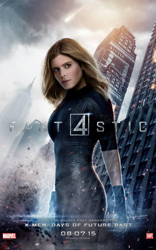 Fantastic-Four-Reboot-2015-20th-Century-Fox-Poster-Kate-Mara-Invisible-Woman
