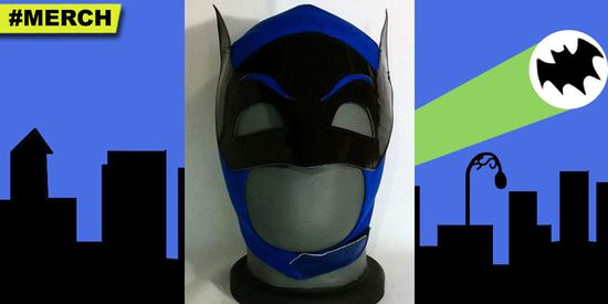 Batman-Adam-West-Luchador-Mask-Wrestling