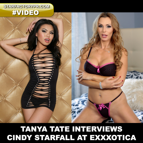 TanyaTate-CindyStarfall-Exxxotica-Interview-Pornstar-Video
