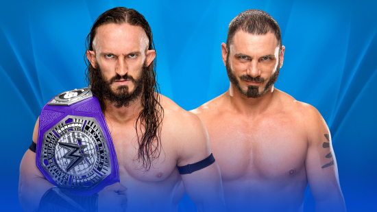 WWE-Wrestlemania-2017-Cruiserweight-Champion-Neville-vs-AustinAries