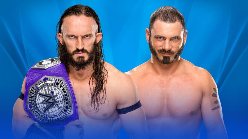 WWE-Wrestlemania-2017-Cruiserweight-Champion-Neville-vs-AustinAries