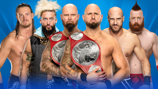 WWE-Wrestlemania-2017-Raw-TagTeam-Champions-LukeGallows-KarlAnderson-vs-EnzoAmore-BigCass-vs-Cesaro-Sheamus