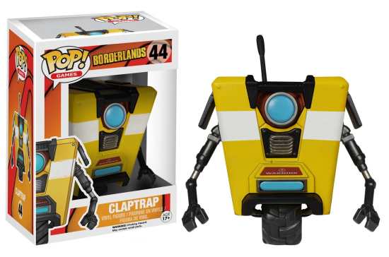 Funko-Pop-Vaulted-Claptrap-Borderlands
