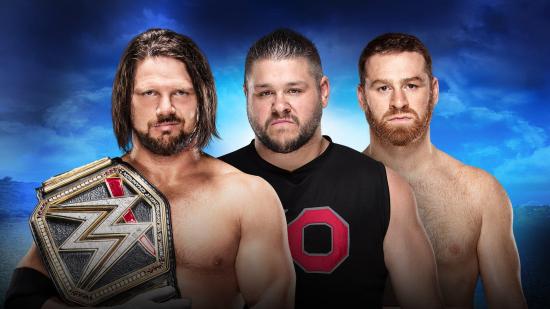 WWE-2018-RoyalRumble-AJStyles-vs-KevinOwens-SamiZayn-WWEChampionship