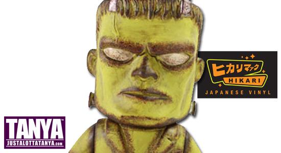 Entertainment Earth Reveals Exclusive Frankenstein Distressed Hikari Sofubi Vinyl Figure 01