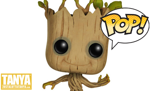 FUNKO POP Marvel Dancing Groot Exclusive