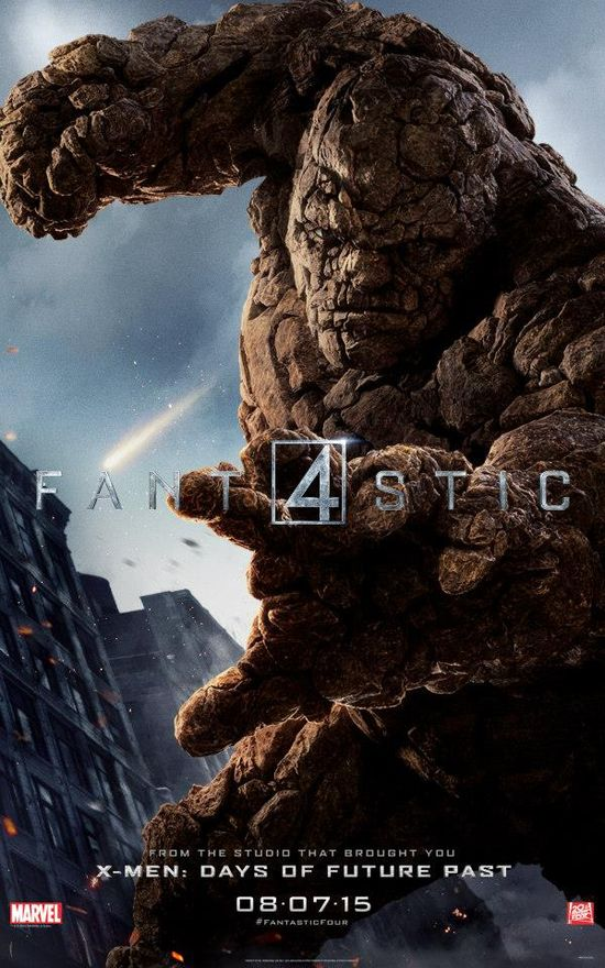 Fantastic-Four-Reboot-2015-20th-Century-Fox-Poster-Jamie-Bell-The-Thing