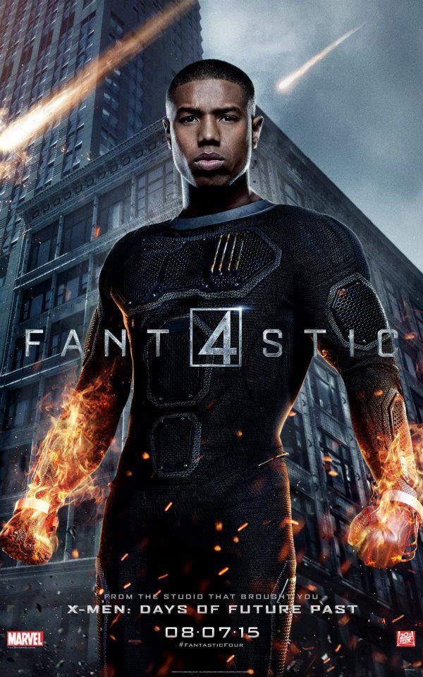 Fantastic-Four-Reboot-2015-20th-Century-Fox-Poster-Michael-B-Jordan-Human-Torch