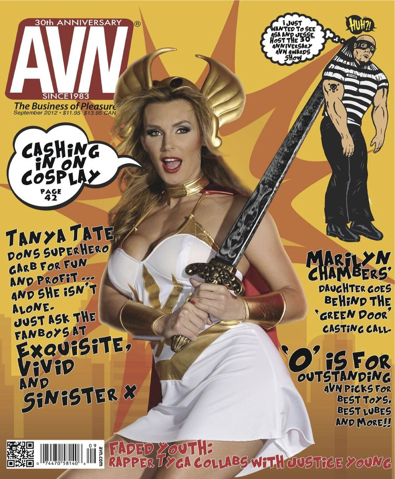 Tanya Tate AVN Magazine Cover