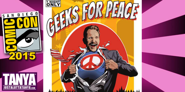 Justa Lotta Sdcc Morgan Spurlock Hosts The Geeks For
