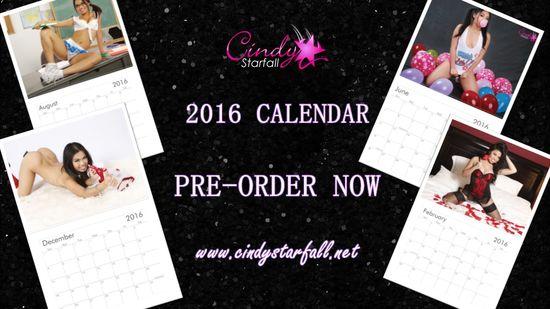 Cindy Starfall 2016 Calendar Cover 1
