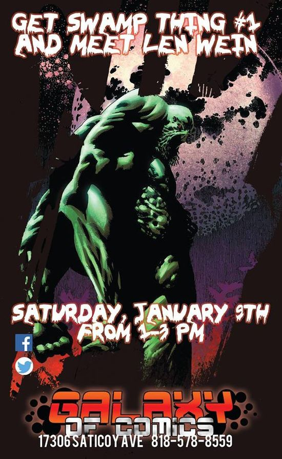 Len-Wein-Galaxy-Of-Comics-Swamp-Thing-DC-Comics-Event-02