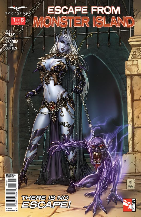 Zenescope-Escape-From-Monster-Island-1-cover-C