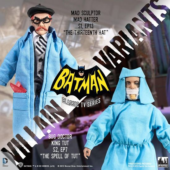 FTC Batman 66 Villain Variants 1