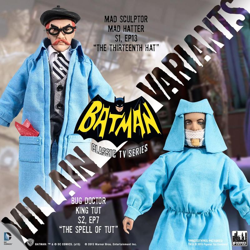 FTC Batman 66 Villain Variants 1