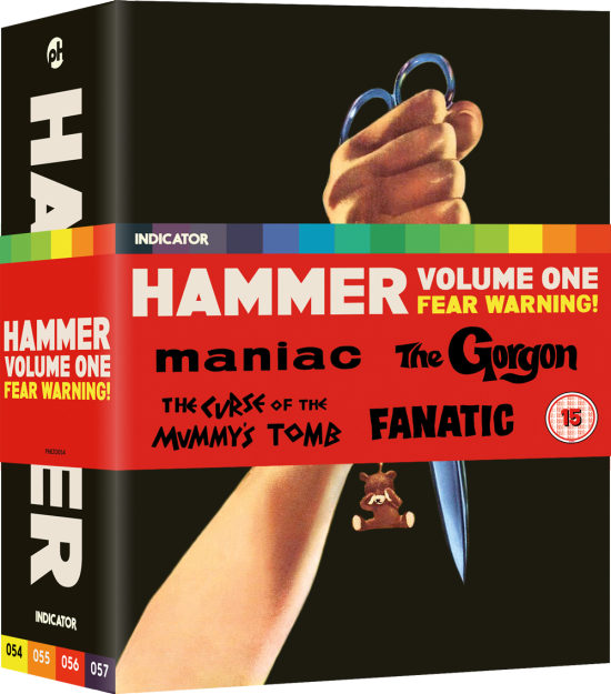 Indicator-Bluray-Hammer-Volume-One-Fear-Warning