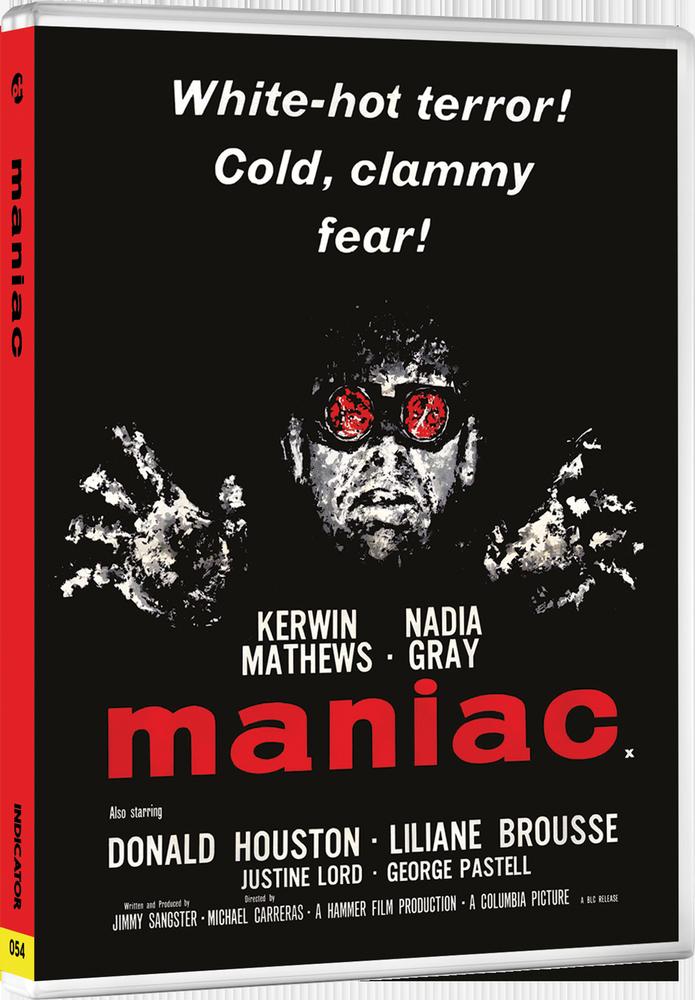 Indicator-Bluray-Hammer-Volume-One-Fear-Warning-Maniac