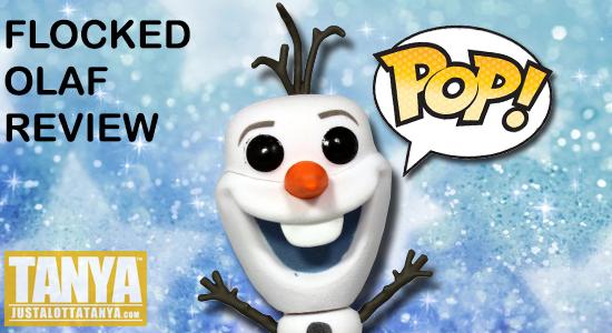 FUNKO POP Flocked Olaf Frozen Review Disney