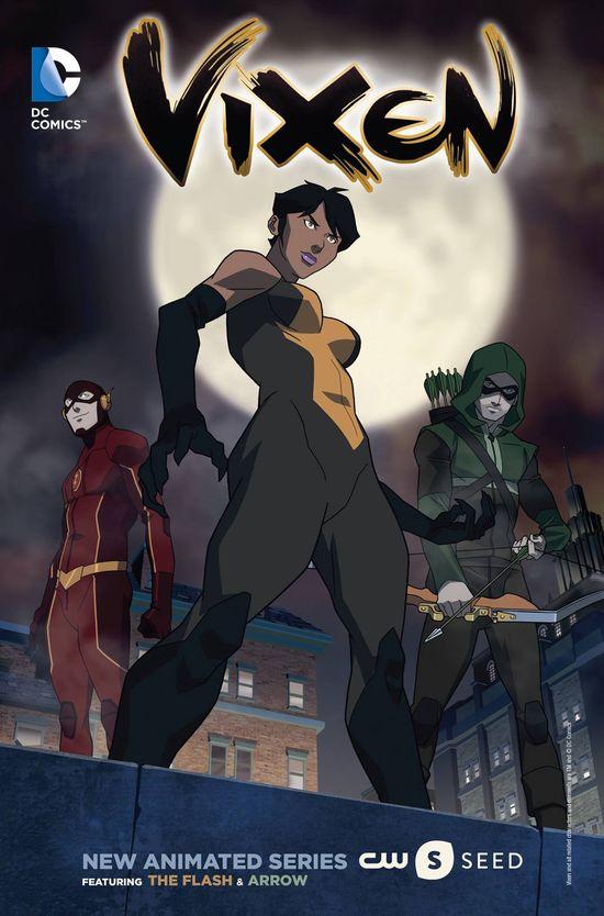 Vixen Dc Comics CW Seed 01