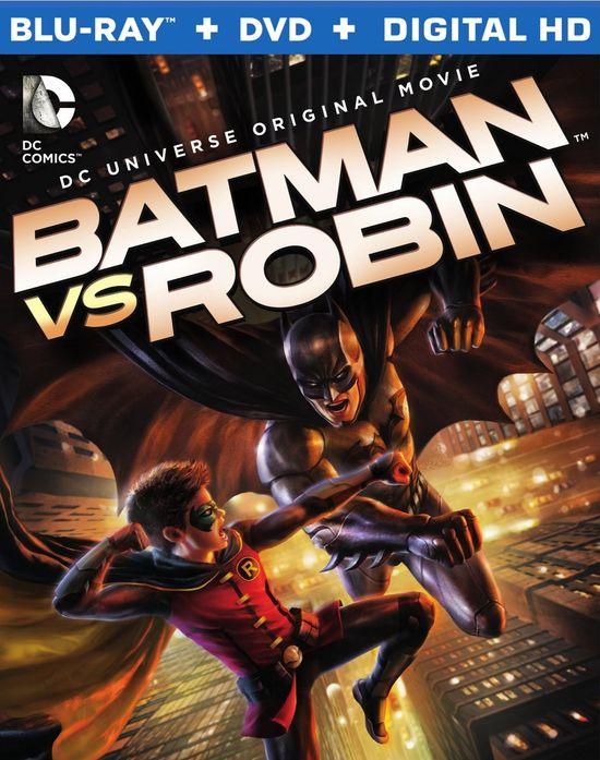 Batman vs Robin Boxcover