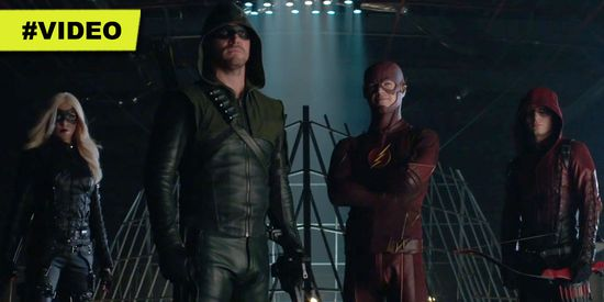 Superhero-Fight-Club-Arrow-The-Flash
