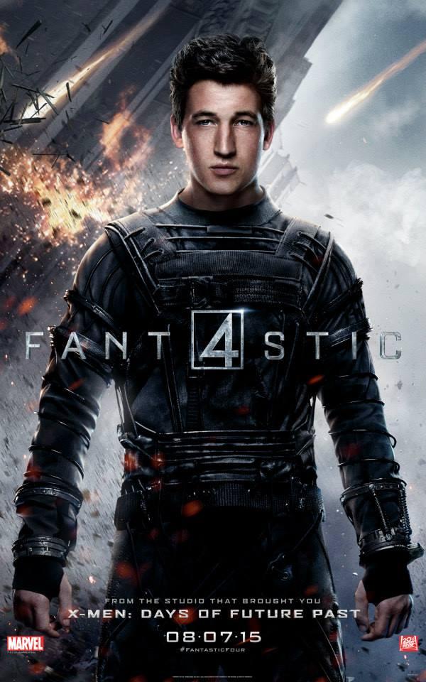Fantastic-Four-Reboot-2015-20th-Century-Fox-Poster-Miles-Teller-Mister-Fantastic