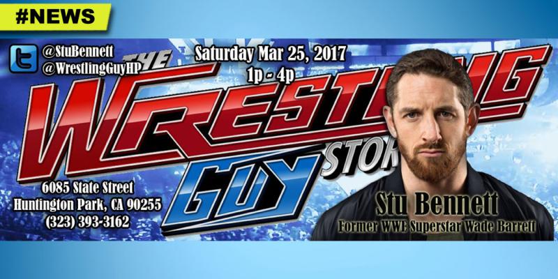 StuBennett-WWE-WadeBarret-appearance-signing-TheWrestlingGuyStore-HuntingtonPark-March25-2017-HGG