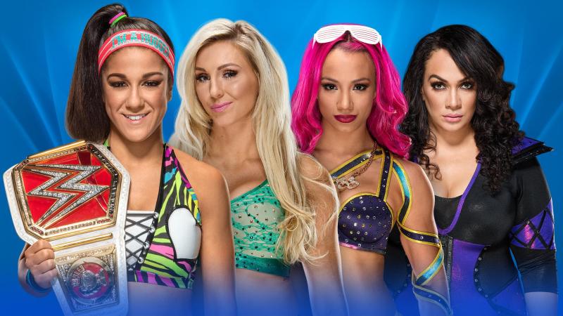 WWE-Wrestlemania-2017-Raw-Womens-Champion-Bayley-vs-CharlotteFlair-vs-SashaBanks-vs-NiaJax