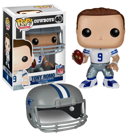 Funko-POP-Vinyl-Vaulted-NFL-Wave2-DallasCowboys-TonyRomo-ActionFigure