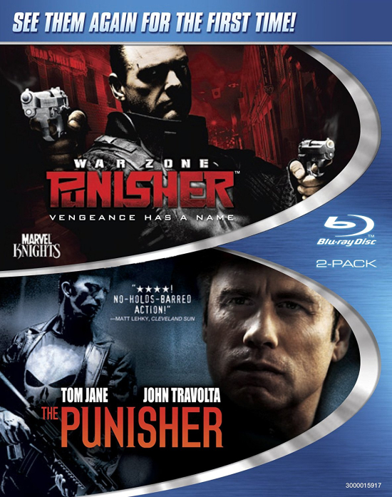 Marvel-ThePunisher-PunisherWarZone-BluRay-Set