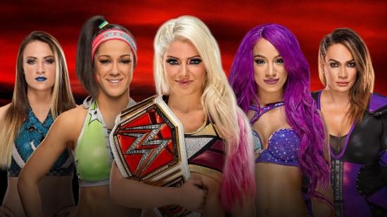 WWE-2017-09-NoMercy-AlexaBliss-SashaBanks-Bayley-NiaJax-Emma