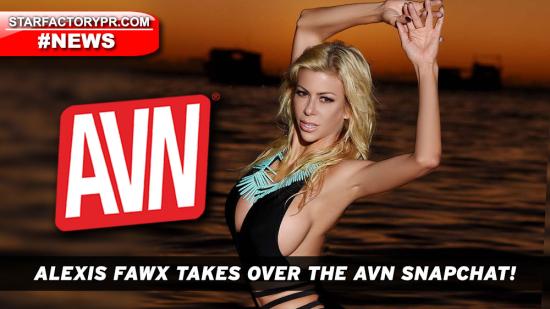 AlexisFawx-2018-AVN-Snapchat